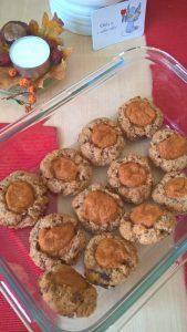 Ovesné koláčky s meruňkovými povidly
